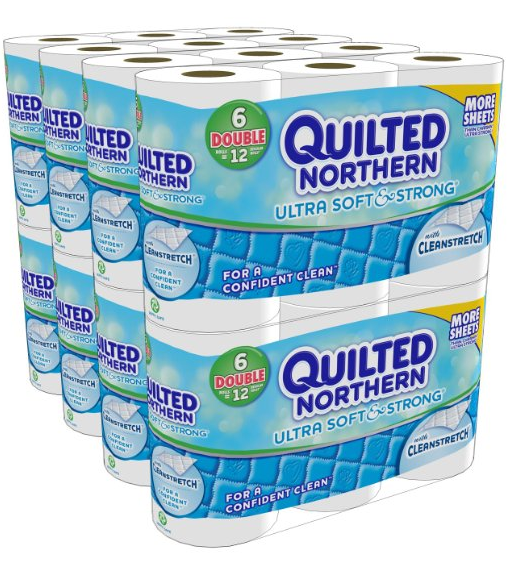 quilted norther bath tissue