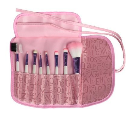 8 pcs Pro Makeup Brushes Travel Set
