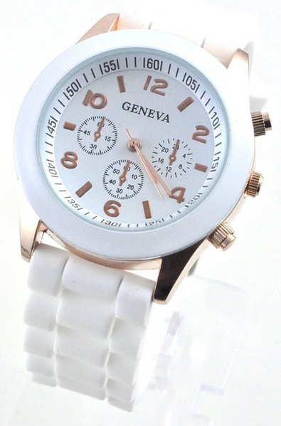 Geneva Chronograph Watch Only $3.66 + FREE Shipping!