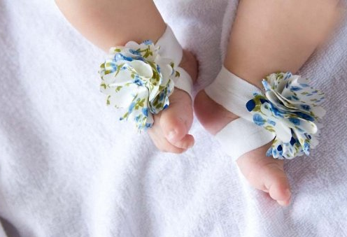 Infant Barefoot Sandals Only $2.48 + FREE Shipping!