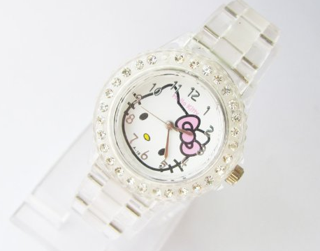 hello kitty wrist watch