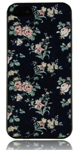 flower harcase cover for iphone 5