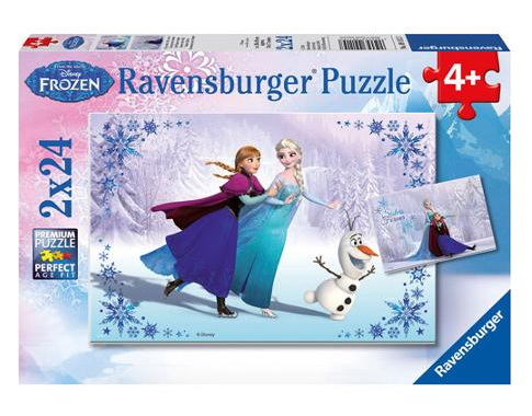 "Disney Frozen ""Sisters Always"" Multi Puzzle Set Just $6.50! Down From $12.99!"