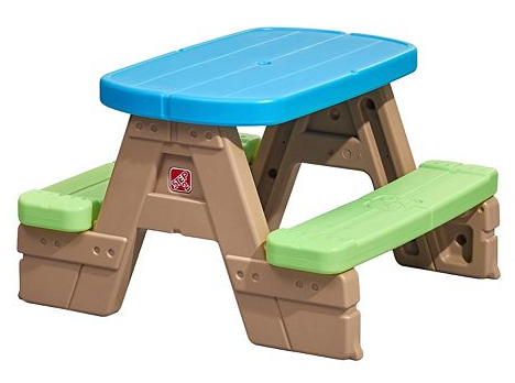 Step2 Sit & Play Jr. Picnic Table Only $31.49! Down From Up To $74.99!