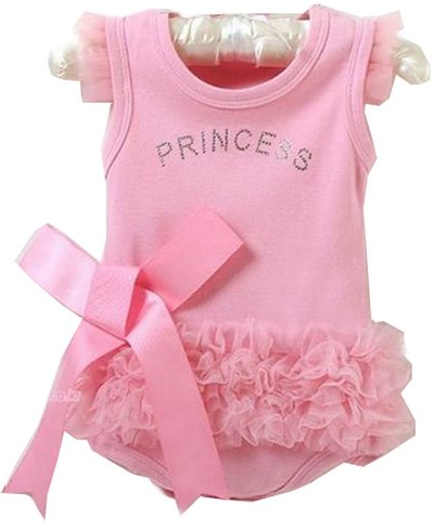 princess infant romper