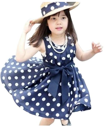 Girls Polka Dot Chiffion Sundress Only $6.99 PLUS FREE Shipping!