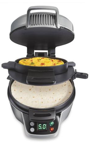 Hamilton Beach Breakfast Burrito Maker Just $19.00! Down From $39.96!