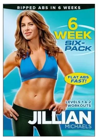 Jillian Michaels: 6 Week Six-Pack (Full Frame) DVD Just $6.96 Down From $14.98 At Walmart!