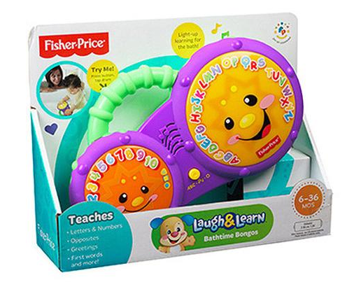 Fisher-Price Laugh & Learn Bathtime Bongos Just $10.26 At Walmart!