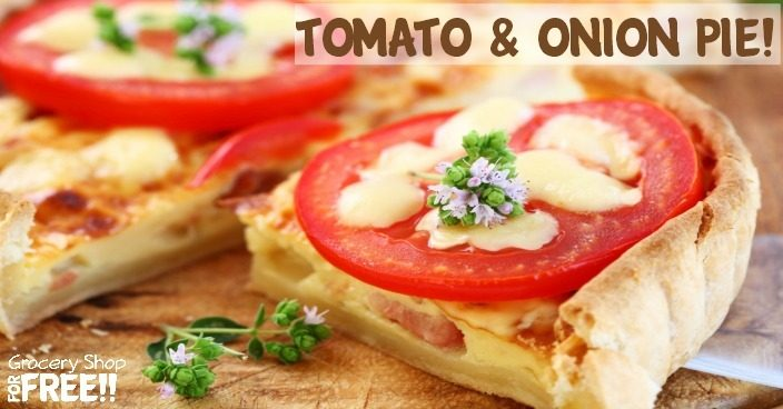 Tomato and Onion Pie!