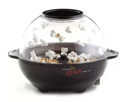 West Bend Stir Crazy Popcorn Popper Just $24.88! Down From $49.99!