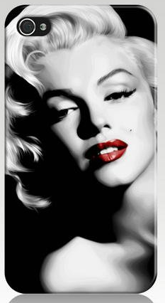 marilyn monroe hard case for iphone 5