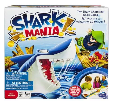 Spin Master Games Shark Mania Board Game Just $7.97! Down From $19.92!