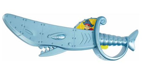 Fisher Price Jake And The Neverland Pirates Chomping Shark Sword Just $5.74! Down From $9.97!