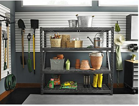 "Gladiator 77"" 4 Shelf Tool-Free Rack Only $149.99! Down From Up To $299.99!"