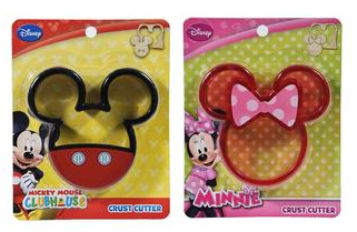 Disney Mickey & Minnie Mouse Crust Cutters 2 Pack Just $9.99! Down From $24.99!