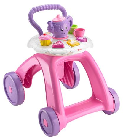 Fisher-Price Laugh & Learn Smart Stages Tea Cart Walker Just $22.11! Down From $50.98!