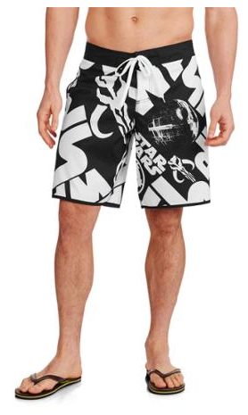 Star Wars Men's Boardshort Just $10.50! Down From $18!