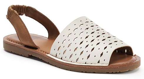 SO Women's Two-Piece Slingback Sandals Only $2.39! Down From Up To $34.99!