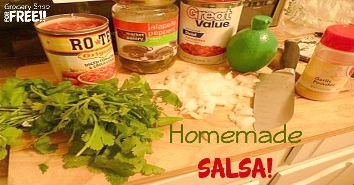 Homemade Salsa!