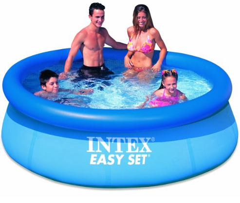 "INTEX 8' x 30"" Easy Set Inflatable Swimming Pool"