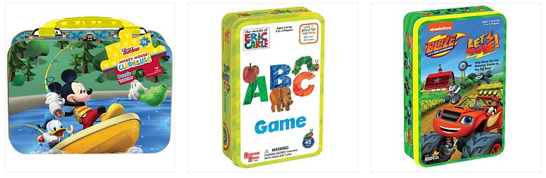 Kid's Puzzle Tin Only $4.19! Down From Up To $10.00!