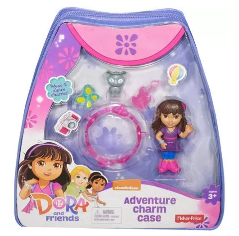 Fisher-Price Dora and Friends Adventure Charm Case Just $8.67! Down From $14.97!