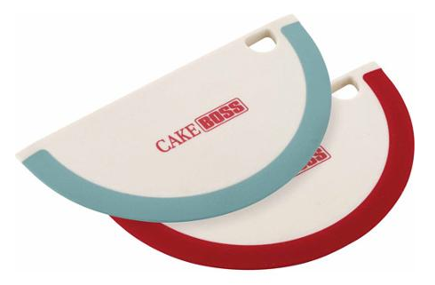 Cake Boss Nylon Tools Silicone Bowl Scrapers, Set of 2 Book Just $3.00! Down From $8.99!