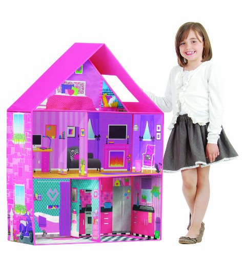 Fold-able Doll House For Only $29.99!