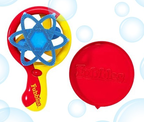 Little Kids Fubbles Motorized Bubble Fan Just $6.99 Down From $24.99! Ships FREE!