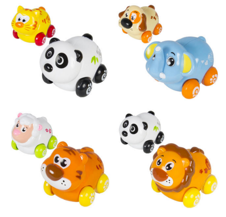 BestChoiceproducts (Set of 8) Push and Go Friction Powered Animal Cars Just $19.95 Down From $49.99!