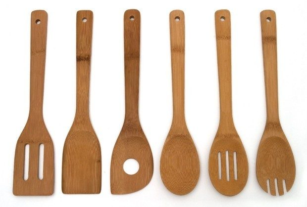 Set of 6 Bamboo Kitchen Tools Just $5.49!