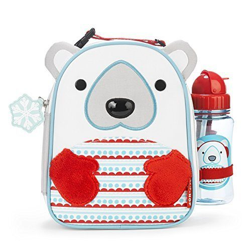 Skip Hop Zoo Winter Lunchie & Bottle Set Lunch Bag Polar Bear $11.87 + FREE Shipping with Prime!