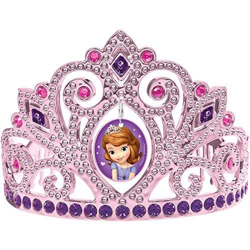 Sofia The First Electroplated Tiara Only $6.06!