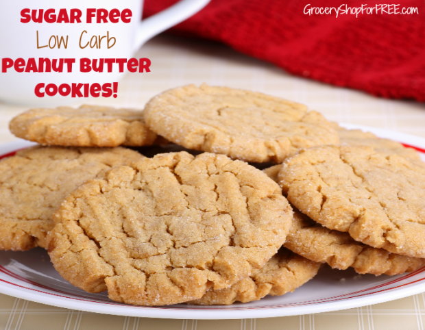 Sugar free low carb cookies