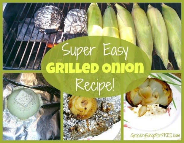 Super Easy Grilled Onion Recipe!