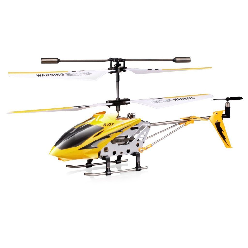 Syma S107-S107G 3 Channel RC Heli with Gyro - Yellow