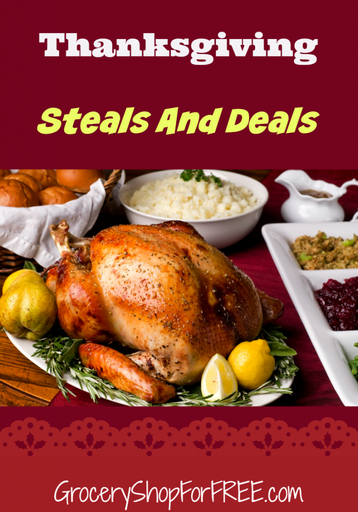 Thanksgiving Steals And Deals