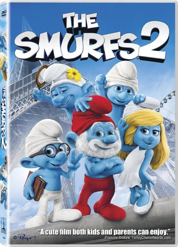 The Smurfs 2 DVD +UltraViolet Digital Copy $3.99!