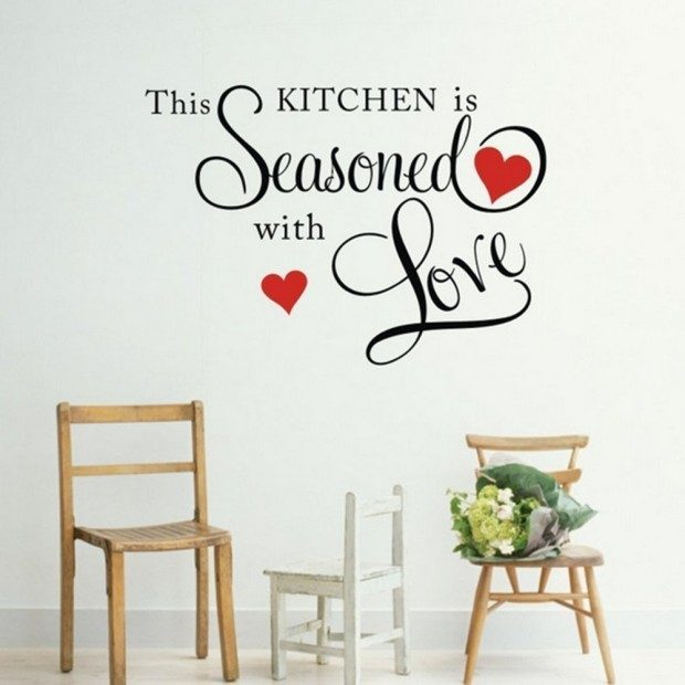 This Kitchen Is Seasoned With Love Wall Decal Only $2.75 + FREE Shipping!