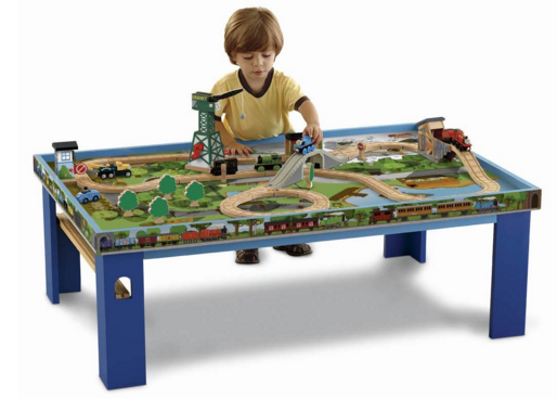 Fisher-Price Thomas The Train Wooden Railway Play Table Just $139!  FREE Shipping!