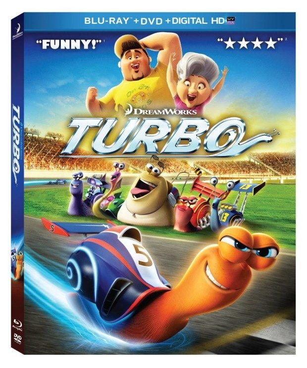 Turbo Blu-ray / DVD Combo Pack Only $7 + FREE Shipping with Prime!