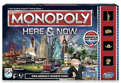 Monopoly Here & Now Game: US Edition Just $15 Down From $22!