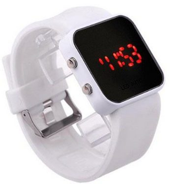 Unisex Mirror Dial LED Digital Sport Watch Only $4.59 + FREE Shipping!