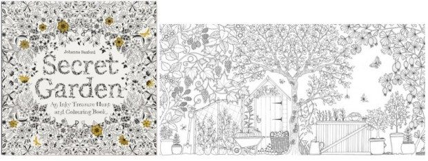 Secret Garden: An Inky Treasure Hunt And Coloring Book Just $10 Down From $16!