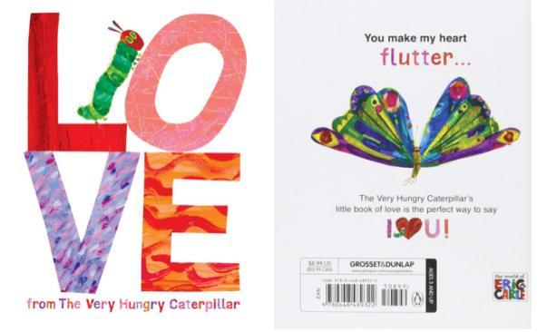 Love From The Very Hungry Caterpillar Hardcover Just $5.56 Down From $9!