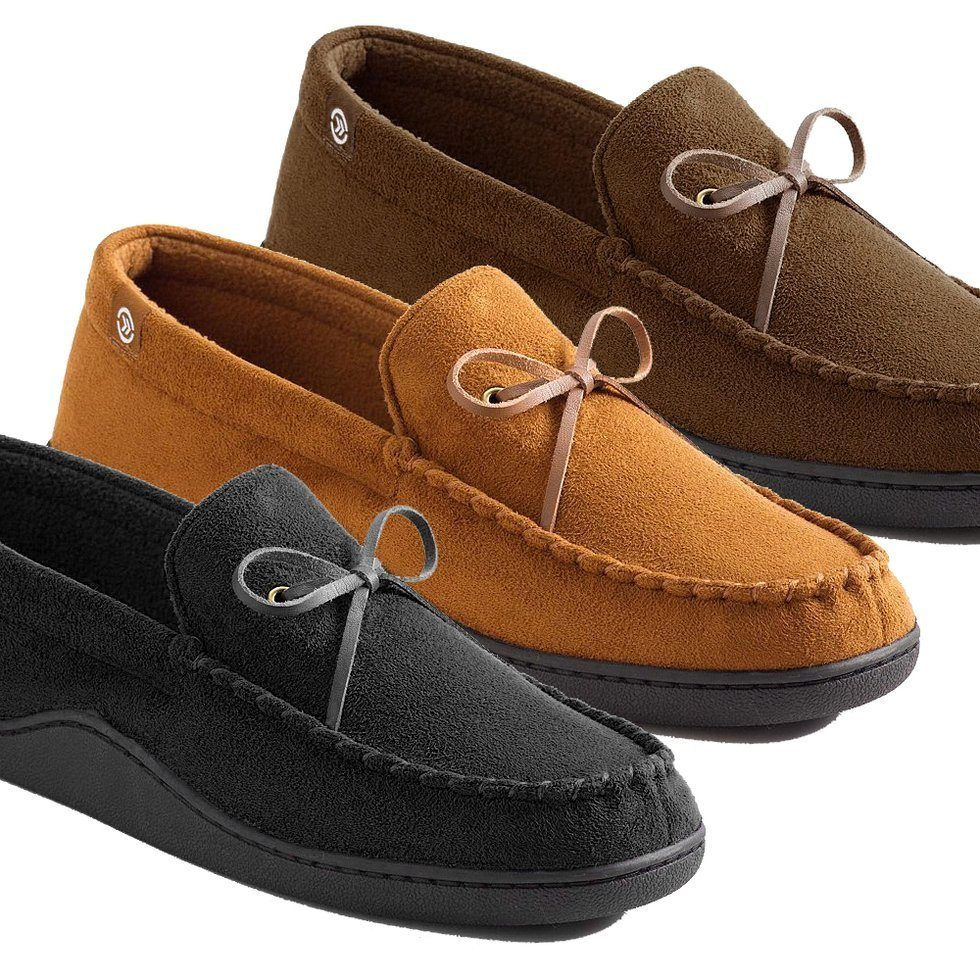 WOW!  Men's Isotoner Memory Foam Moccasin Slippers ONLY $17.99 + FREE Shipping  (WAS $36)!