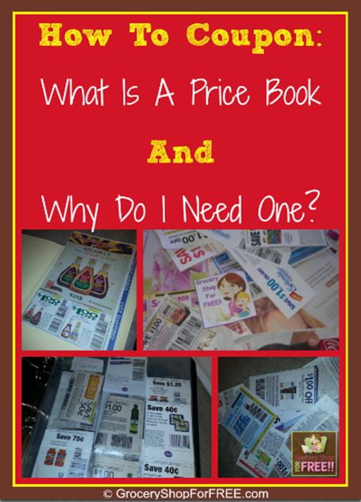 How To Coupon: What Is A Price Book And Why Do I Need One?  This one thing will definitely make couponing much easier!