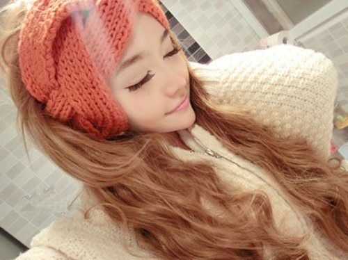 Women's Braided Knit Headbands