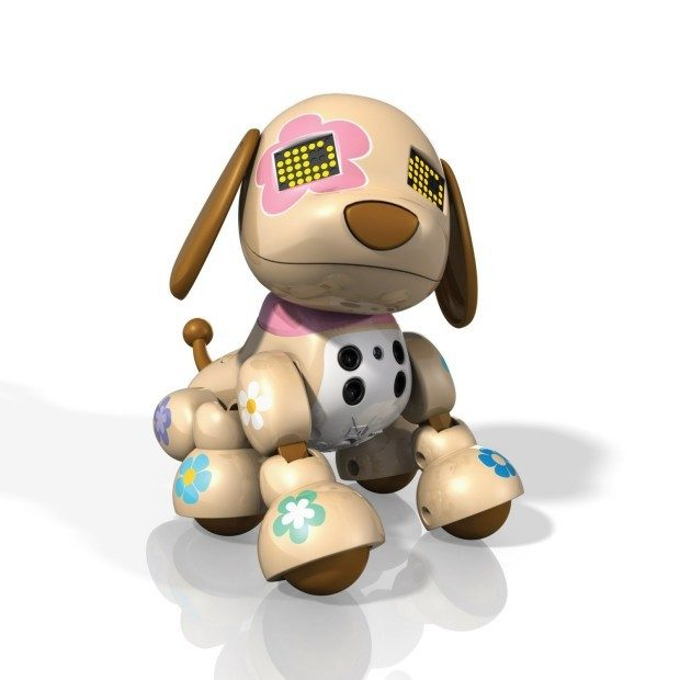 Zoomer Zuppies Interactive Puppy, Flora Just $14.69! (reg. $39.99)